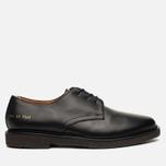 Common Projects Cadet Derby Men's Shoes Black photo- 0