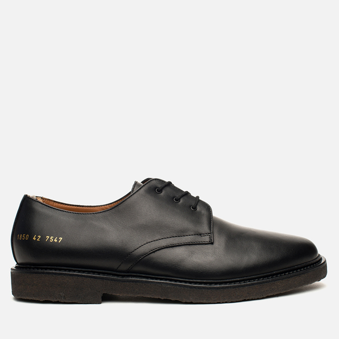 Мужские ботинки Common Projects Cadet Derby Black
