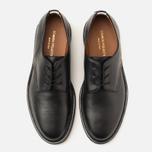 Common Projects Cadet Derby Men's Shoes Black photo- 4
