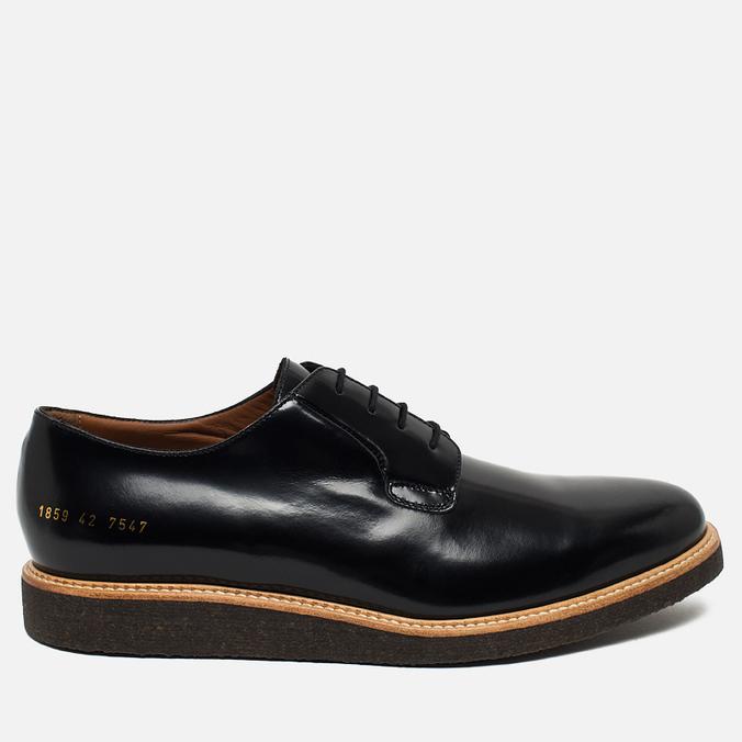Мужские ботинки Common Projects Derby Shine Black