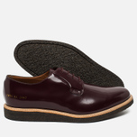 Мужские ботинки Common Projects Derby Shine Bordeaux фото- 2