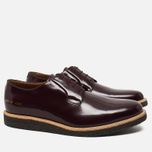 Мужские ботинки Common Projects Derby Shine Bordeaux фото- 1