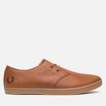 Мужские ботинки Fred Perry Byron Low Leather Tan фото- 0