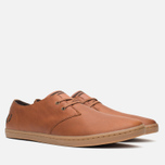 Мужские ботинки Fred Perry Byron Low Leather Tan фото- 1