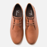 Мужские ботинки Fred Perry Byron Low Leather Tan фото- 4