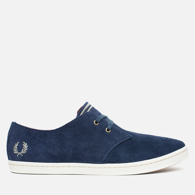 Мужские ботинки Fred Perry Byron Low Suede Carbon Blue