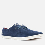 Мужские ботинки Fred Perry Byron Low Suede Carbon Blue фото- 1