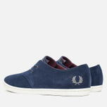 Мужские ботинки Fred Perry Byron Low Suede Carbon Blue фото- 2