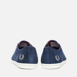 Мужские ботинки Fred Perry Byron Low Suede Carbon Blue фото- 3