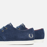 Fred Perry Byron Low Suede Men's Shoes Carbon Blue photo- 5