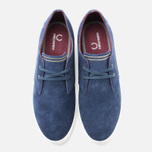 Мужские ботинки Fred Perry Byron Low Suede Carbon Blue фото- 4