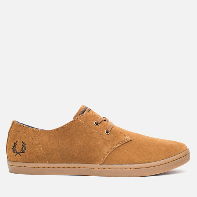 Fred Perry Byron Low Suede Men's Shoes Ginger