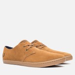 Fred Perry Byron Low Suede Men's Shoes Ginger photo- 1