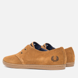 Fred Perry Byron Low Suede Men's Shoes Ginger photo- 2