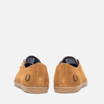Fred Perry Byron Low Suede Men's Shoes Ginger photo- 3