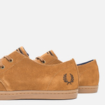 Fred Perry Byron Low Suede Men's Shoes Ginger photo- 5