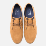 Fred Perry Byron Low Suede Men's Shoes Ginger photo- 4