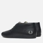 Мужские ботинки Fred Perry Byron Mid Leather Black фото- 2