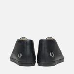 Мужские ботинки Fred Perry Byron Mid Leather Black фото- 3