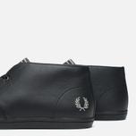 Мужские ботинки Fred Perry Byron Mid Leather Black фото- 5