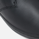 Fred Perry Byron Mid Leather Men's Shoes Black photo- 7