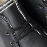 Fred Perry Byron Mid Leather Men's Shoes Black photo- 6