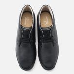 Мужские ботинки Fred Perry Byron Mid Leather Black фото- 4