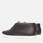 Мужские ботинки Fred Perry Byron Mid Leather Dark Chocolate фото- 2