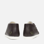 Мужские ботинки Fred Perry Byron Mid Leather Dark Chocolate фото- 3