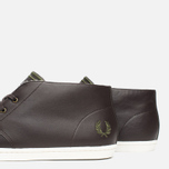 Мужские ботинки Fred Perry Byron Mid Leather Dark Chocolate фото- 5