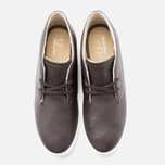 Мужские ботинки Fred Perry Byron Mid Leather Dark Chocolate фото- 4