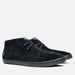 Мужские ботинки Fred Perry Byron Mid Suede Black фото- 1