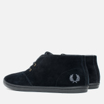 Мужские ботинки Fred Perry Byron Mid Suede Black фото- 2