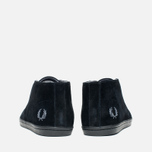 Мужские ботинки Fred Perry Byron Mid Suede Black фото- 3