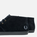 Мужские ботинки Fred Perry Byron Mid Suede Black фото- 5