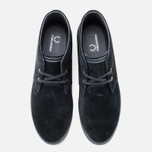 Мужские ботинки Fred Perry Byron Mid Suede Black фото- 4