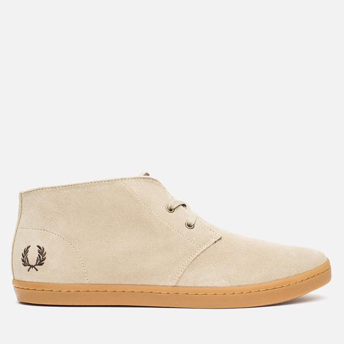 Мужские ботинки Fred Perry Byron Mid Suede Sand