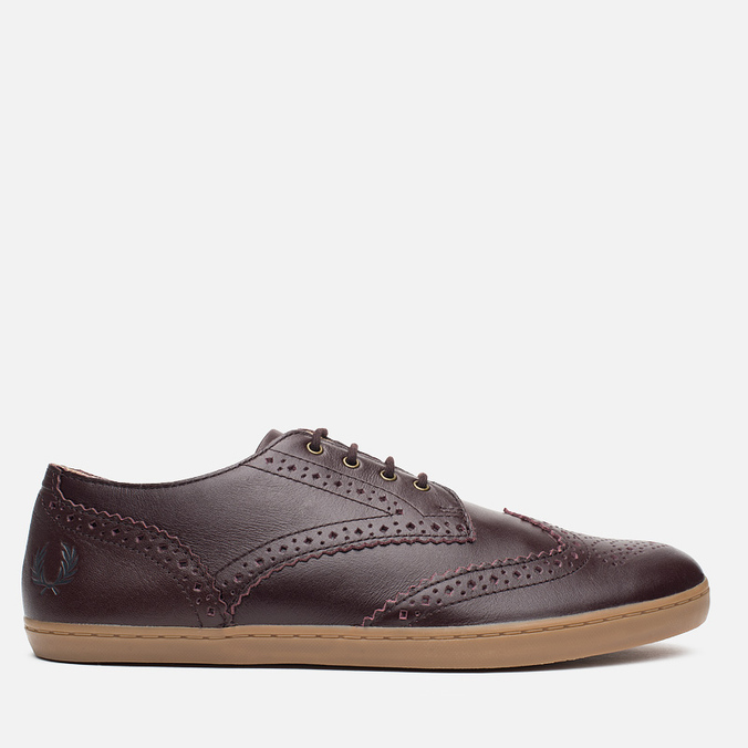 Мужские ботинки Fred Perry Ealing Leather Ox Blood