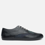 Мужские ботинки Fred Perry Ealing Scotchgrain Leather Millerain Black фото- 0