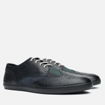 Мужские ботинки Fred Perry Ealing Scotchgrain Leather Millerain Black фото- 1