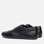 Мужские ботинки Fred Perry Ealing Scotchgrain Leather Millerain Black фото- 2