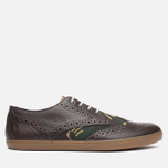 Мужские ботинки Fred Perry Ealing Scotchgrain Millerain Dark Chocolate фото- 0