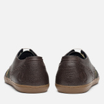 Мужские ботинки Fred Perry Ealing Scotchgrain Millerain Dark Chocolate фото- 3