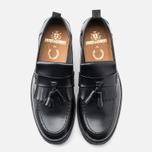 Мужские ботинки Fred Perry Hawkhurst Leather Black фото- 4