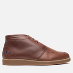 Мужские ботинки Fred Perry Southall Mid Leather Chestnut фото- 0