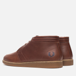Мужские ботинки Fred Perry Southall Mid Leather Chestnut фото- 2
