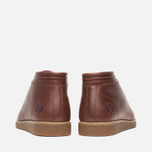 Fred Perry Southall Mid Leather Men's Shoes Chesnut photo- 3