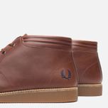 Fred Perry Southall Mid Leather Men's Shoes Chesnut photo- 5