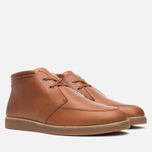 Fred Perry Southall Mid Leather Men's Shoes Tan photo- 1