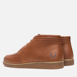 Fred Perry Southall Mid Leather Men's Shoes Tan photo- 2